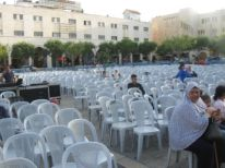 09. chairs for the audience