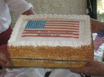 02. Independence day USA together with golden feast of a American friar